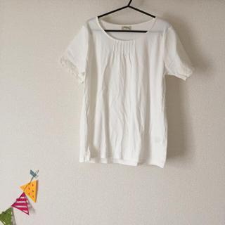 サマンサモスモス(SM2)のSM2・袖レースシャツ(Tシャツ/カットソー(半袖/袖なし))
