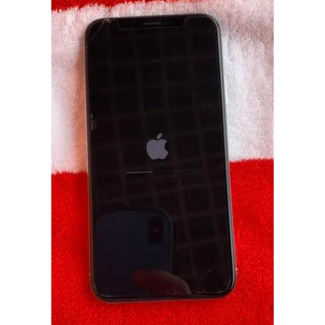 iPhone(アイフォーン)のiPhone X SIMフリー 64GB 美品 スマホ/家電/カメラのスマートフォン/携帯電話(スマートフォン本体)の商品写真