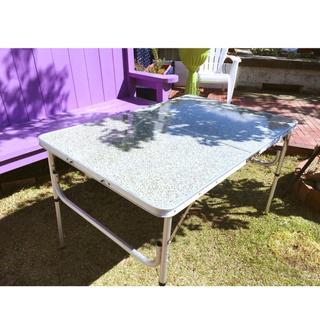 フィールドテーブル・折りたたみ式    2way/LL size(折たたみテーブル)