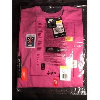 ナイキ(NIKE)のNIKE ナイキ 各種タグ付き ロングスリーブTシャツ ピンク 新品 レディース(Tシャツ(長袖/七分))