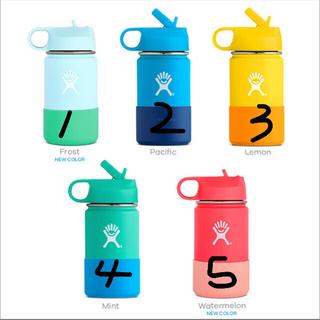 ハイドロフラスク キッズ ストロー ワイドマウス KIDS (354ml)(水筒)