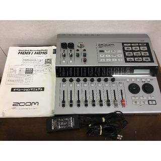 ズーム(Zoom)のZOOM マルチトラックレコーダー MTR HD8CD 動作品(MTR)