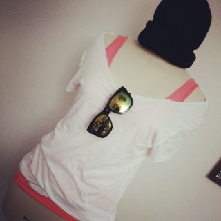 エイチアンドエム(H&M)の【値下げ】タンクトップ&白Tシャツセット(セット/コーデ)