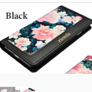 リエンダ(rienda)のお値下人気ブランド リエンダiphone6/6sケース マグネット花柄(iPhoneケース)