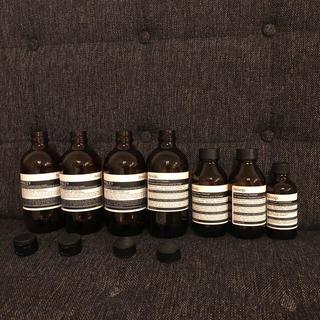 イソップ(Aesop)のイソップ   空き瓶 7本(容器)