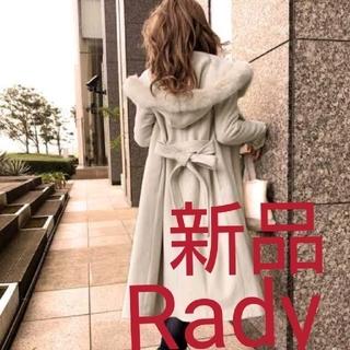 Rady - 《新品》Rady☆ファーロングラップウールコート