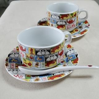 セサミストリート(SESAME STREET)のエルモ コーヒーカップ セット(グラス/カップ)