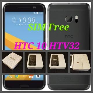 エーユー(au)の【SIMフリー/新品未使用】au HTC 10 HTV32/グレイ/判定○(スマートフォン本体)
