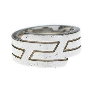 エルメス(Hermes)のHERMESエルメス◇AGSV925シルバーイタリークHマークリング指輪52(リング(指輪))