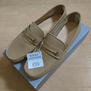 アシナガオジサン(あしながおじさん)の【売り切り】en あしながおじさん ローファー 23.5 ベージュ(ローファー/革靴)