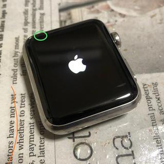 アップルウォッチ(Apple Watch)のApple Watch series1  42mm ステンレスモデル(腕時計(デジタル))