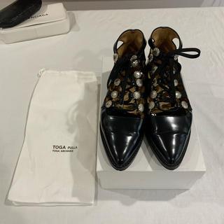 トーガ(TOGA)のTOGA ギリーシューズ(ローファー/革靴)