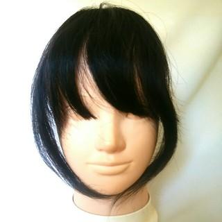 前髪ウィッグ サイド付き 新品未使用(前髪ウィッグ)