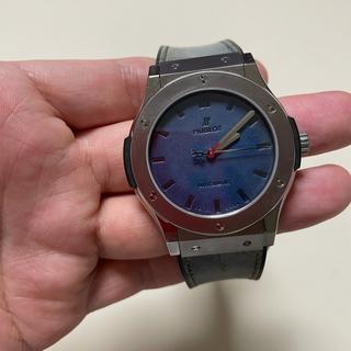 ウブロ(HUBLOT)のウブロ ベルルッティ クラシックフュージョン オーシャンブルー 限定500本(腕時計(アナログ))