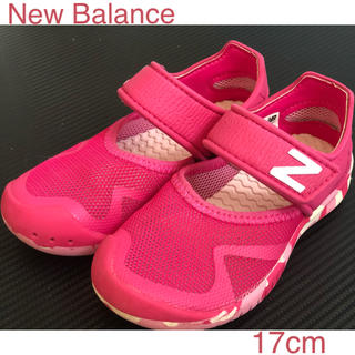 New Balance - NB ニューバランス 水陸両用 ピンク サンダル ウォーターシューズ 17cm
