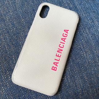 バレンシアガ(Balenciaga)のBALENCIAGA バレンシアガ iPhoneXケース(iPhoneケース)