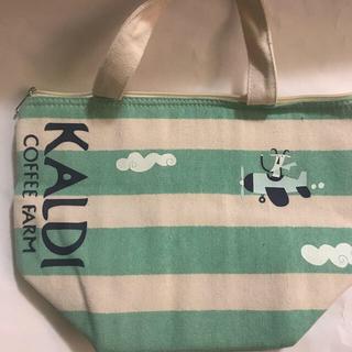 カルディ(KALDI)のKALDI 珈琲 保冷バッグ 夏終わりて14日迄!(トートバッグ)