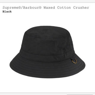 シュプリーム(Supreme)のsupreme barbour waxed cotton crusher(キャップ)