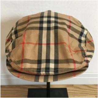 バーバリー(BURBERRY)のBurberry's 90s ノバチェック ハンチング帽 古着(ハンチング/ベレー帽)