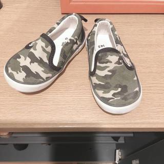 ニシマツヤ(西松屋)の子供靴(スニーカー)