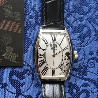 ディズニー(Disney)のディズニー90周年記念200個限定ミッキーダイヤル自動巻き未使用稼動品(腕時計(アナログ))