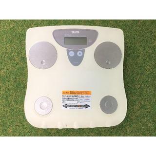 タニタ(TANITA)の【送料込】タニタ 体重計 体脂肪計 TANITA TBF-633 動作OK(体脂肪計)