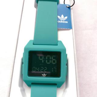 アディダス(adidas)のadidasアーカイブ腕時計 ユニセックス 並行輸入品 グリーン(腕時計(デジタル))