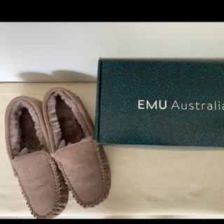 エミュー(EMU)のエミュー EMU  ムートンシューズ 25㎝ USサイズ8(スリッポン/モカシン)