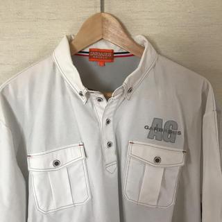 アンジェロガルバス(ANGELO GARBASUS)の【美品】アンジェロガルバスのポロシャツ(ポロシャツ)