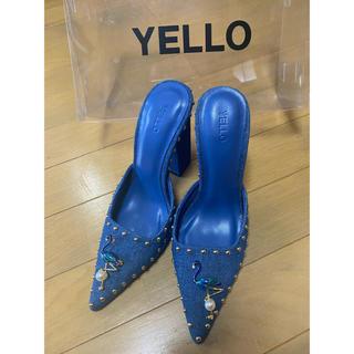 イエローブーツ(Yellow boots)のYELLO☆デニムミュール(ミュール)