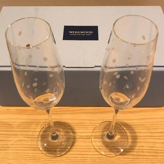 ウェッジウッド(WEDGWOOD)の【未使用】ウェッジウッド シャンパングラス(グラス/カップ)