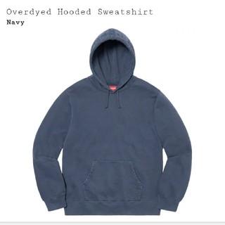 シュプリーム(Supreme)の送料込定価以下【紺/M】Overdyed Hooded Sweatshirt(パーカー)