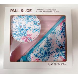 ポールアンドジョー(PAUL & JOE)の限定品♡ポールアンドジョー  マットプレストパウダー(コフレ/メイクアップセット)