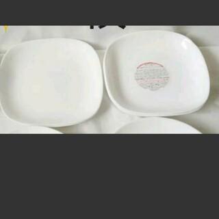 ヤマザキセイパン(山崎製パン)の白 皿 7枚(食器)