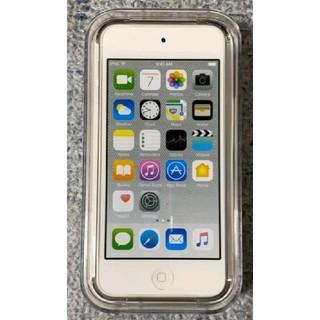 アイポッドタッチ(iPod touch)の値下げ【新品未開封】  apple   ipodtouch 第6世代 シルバー(ポータブルプレーヤー)