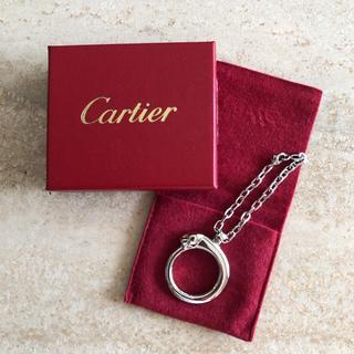 カルティエ(Cartier)の【希少】カルティエ/Cartier パンテール キーリング(キーホルダー)
