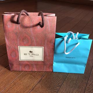 エトロ(ETRO)のETRO&TIFFANY ショップ紙袋(ショップ袋)