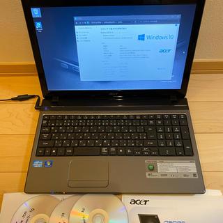 エイサー(Acer)のACER aspire 5750 Core i5(ノートPC)