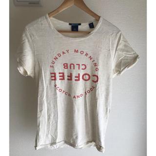 スコッチアンドソーダ(SCOTCH & SODA)のスコッチアンドソーダ coffee club Tシャツ(Tシャツ/カットソー(半袖/袖なし))