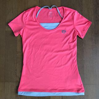 ティゴラ(TIGORA)のTIGORA レディース フィットネス ランニング 半袖Tシャツ Mサイズ(ウェア)