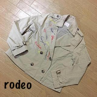 RODEO CROWNS - ロデオの刺繍トレンチコート!