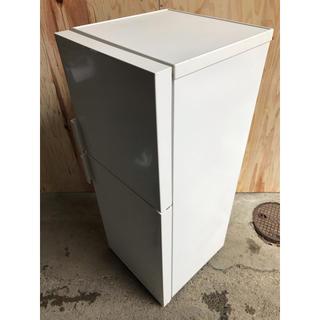 ムジルシリョウヒン(MUJI (無印良品))のA/MUJI 2ドア冷凍冷蔵庫 AMJ-14D-3 2019(冷蔵庫)