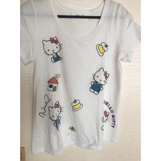 ニーナミュウ(Nina mew)のninaミュウ レディースTシャツ キティ(Tシャツ(半袖/袖なし))