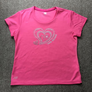 ニューバランス(New Balance)のTシャツ  テニスウェア、ランニングウェア  レディース  Lサイズ (ウェア)