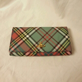 ヴィヴィアンウエストウッド(Vivienne Westwood)の ヴィヴィアン チェック柄 長財布(財布)