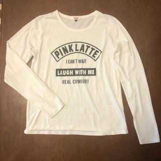 ピンクラテ(PINK-latte)のロンT ピンクラテ(Tシャツ(長袖/七分))