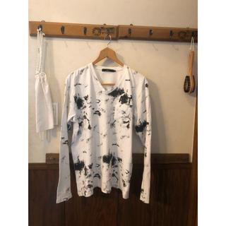 アズールバイマウジー(AZUL by moussy)の長袖カットソー  ロンT マウジー M(Tシャツ/カットソー(七分/長袖))