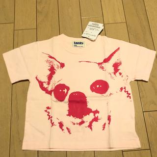ランドリー(LAUNDRY)の新品未使用 Laundry チワワ 顔面 プリント Tシャツ 90(Tシャツ/カットソー)