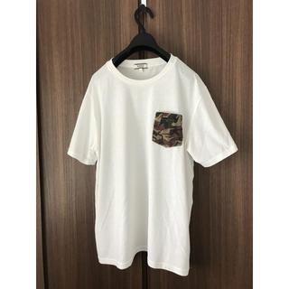 エーグル(AIGLE)のカモ柄 AIGLE Tシャツ(Tシャツ/カットソー(半袖/袖なし))