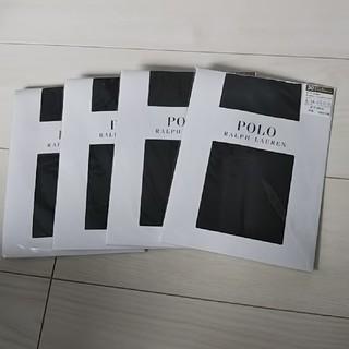 ポロラルフローレン(POLO RALPH LAUREN)のラルフローレン  30デニールストッキング  L~LLサイズ  4枚セット(タイツ/ストッキング)